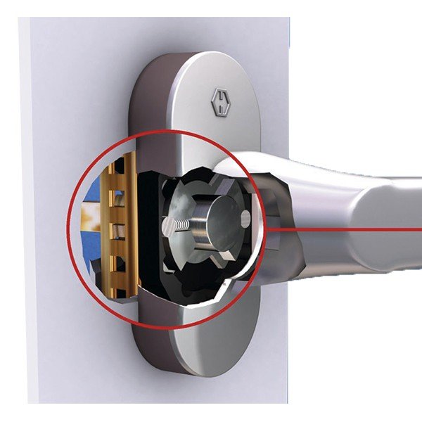Cremon fereastra PVC de securitate